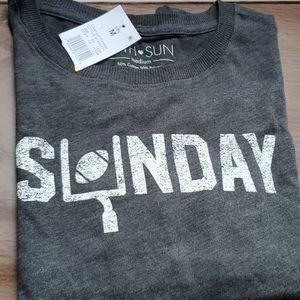 Sunday Football Long Sleeve Juniors heather gray M